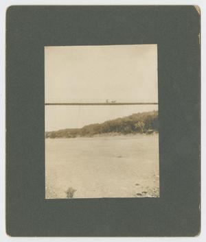 Primary view of object titled 'Horse and Buggy Crossing Brazos River'.