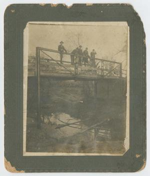 Primary view of object titled 'Bridge over the Brazos on Road North to Graford'.