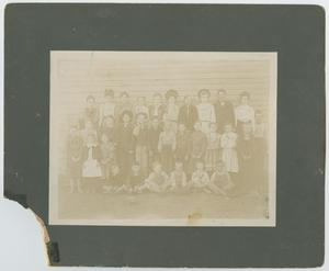 Primary view of object titled '[Students of Nellie Hittson's School]'.