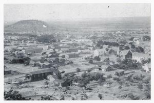 Primary view of object titled '[Hillside View of a Town]'.
