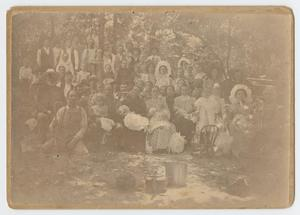 Primary view of object titled '[Fourth of July Celebrants on the Brazos River]'.