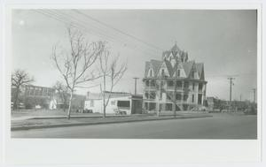 [Photograph of the Hexagon Hotel]