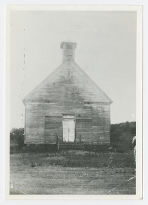 [The First Palo Pinto Methodist Church]