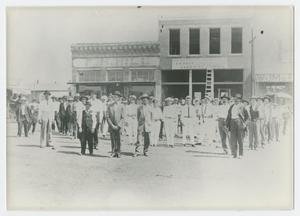 Primary view of object titled '[Main Street, Mingus, Texas]'.