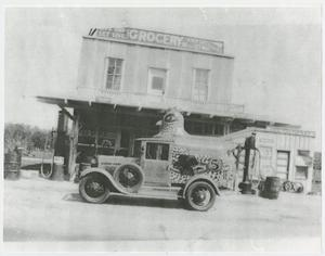 Primary view of object titled '[Chicken Dinner Candy Delivery Truck]'.