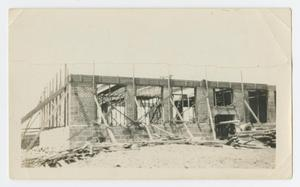 Primary view of object titled 'New Building Replacing the Old Palo Pinto School'.