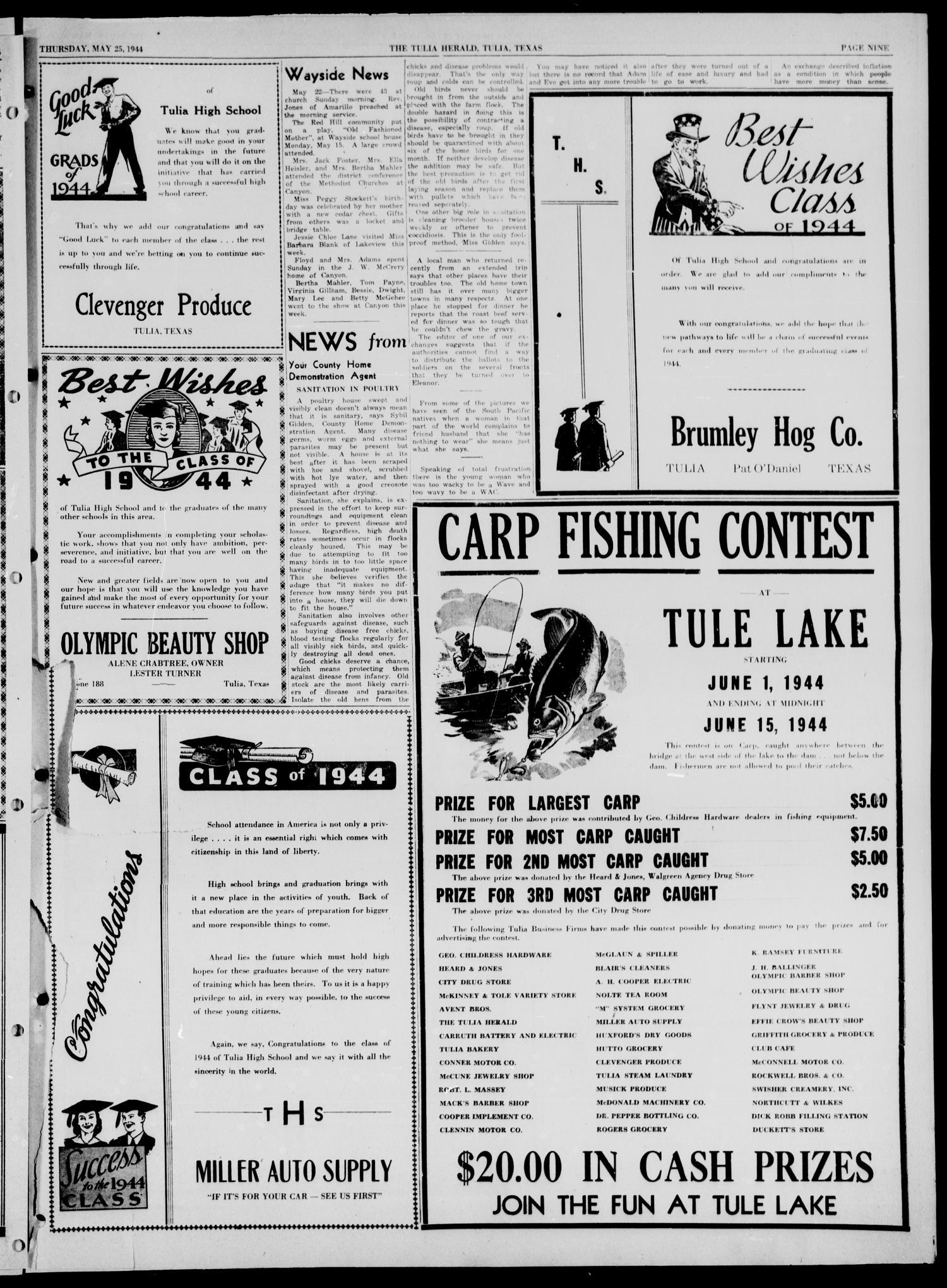 The Tulia Herald (Tulia, Tex), Vol  35, No  21, Ed  1