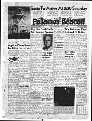 Primary view of Palacios Beacon (Palacios, Tex.), Vol. 50, No. 51, Ed. 1 Thursday, December 19, 1957