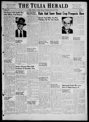 The Tulia Herald (Tulia, Tex), Vol. 35, No. 1, Ed. 1, Thursday, January 6, 1944