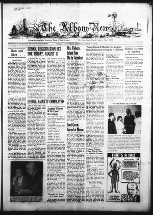 Primary view of object titled 'The Albany News (Albany, Tex.), Vol. 89, No. 51, Ed. 1 Thursday, August 9, 1973'.