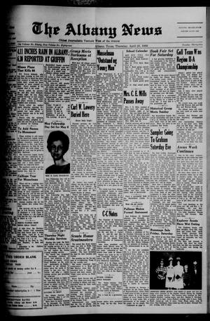 Primary view of object titled 'The Albany News (Albany, Tex.), Vol. 82, No. 35, Ed. 1 Thursday, April 28, 1966'.