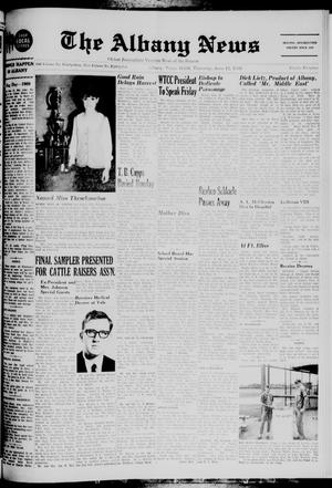 Primary view of object titled 'The Albany News (Albany, Tex.), Vol. 85, No. 42, Ed. 1 Thursday, June 12, 1969'.