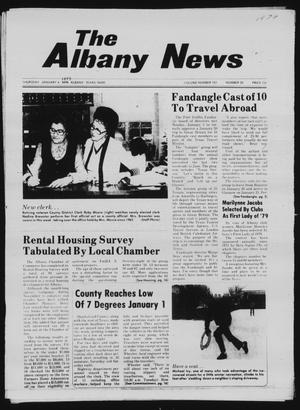 Primary view of object titled 'The Albany News (Albany, Tex.), Vol. 103, No. 28, Ed. 1 Thursday, January 4, 1979'.