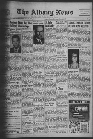 Primary view of object titled 'The Albany News (Albany, Tex.), Vol. 83, No. 40, Ed. 1 Thursday, June 1, 1967'.
