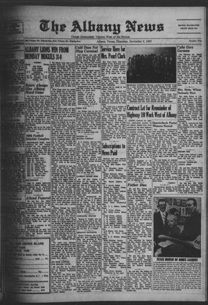 Primary view of object titled 'The Albany News (Albany, Tex.), Vol. 84, No. 10, Ed. 1 Thursday, November 2, 1967'.