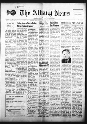 Primary view of object titled 'The Albany News (Albany, Tex.), Vol. 88, No. 34, Ed. 1 Thursday, April 13, 1972'.