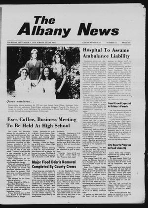 Primary view of object titled 'The Albany News (Albany, Tex.), Vol. 103, No. 13, Ed. 1 Thursday, September 21, 1978'.