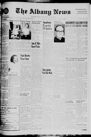 Primary view of object titled 'The Albany News (Albany, Tex.), Vol. 85, No. 49, Ed. 1 Thursday, July 31, 1969'.