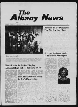 Primary view of object titled 'The Albany News (Albany, Tex.), Vol. 103, No. 31, Ed. 1 Thursday, January 25, 1979'.