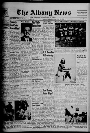 Primary view of object titled 'The Albany News (Albany, Tex.), Vol. 81, No. 41, Ed. 1 Thursday, June 10, 1965'.