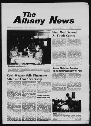 Primary view of object titled 'The Albany News (Albany, Tex.), Vol. 103, No. 24, Ed. 1 Thursday, December 7, 1978'.
