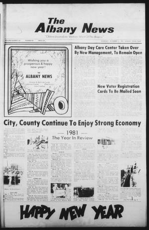 Primary view of object titled 'The Albany News (Albany, Tex.), Vol. 106, No. 28, Ed. 1 Thursday, December 31, 1981'.