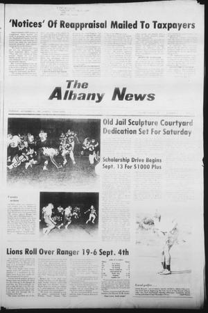 Primary view of object titled 'The Albany News (Albany, Tex.), Vol. 106, No. 12, Ed. 1 Thursday, September 10, 1981'.