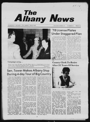 Primary view of object titled 'The Albany News (Albany, Tex.), Vol. 102, No. 28, Ed. 1 Wednesday, January 4, 1978'.