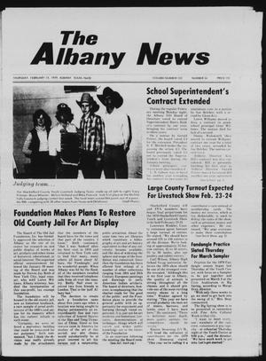 Primary view of object titled 'The Albany News (Albany, Tex.), Vol. 103, No. 34, Ed. 1 Thursday, February 15, 1979'.