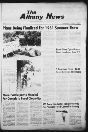 Primary view of object titled 'The Albany News (Albany, Tex.), Vol. 105, No. 51, Ed. 1 Thursday, June 11, 1981'.