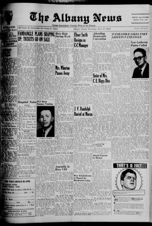 Primary view of The Albany News (Albany, Tex.), Vol. 80, No. 42, Ed. 1 Thursday, June 18, 1964