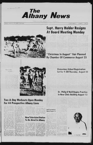 Primary view of object titled 'The Albany News (Albany, Tex.), Vol. 104, No. 8, Ed. 1 Thursday, August 16, 1979'.