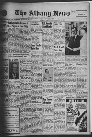 Primary view of object titled 'The Albany News (Albany, Tex.), Vol. 84, No. 46, Ed. 1 Thursday, July 11, 1968'.