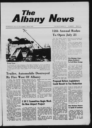 Primary view of object titled 'The Albany News (Albany, Tex.), Vol. 103, No. 4, Ed. 1 Wednesday, July 19, 1978'.