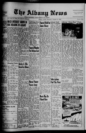 Primary view of object titled 'The Albany News (Albany, Tex.), Vol. 82, No. 50, Ed. 1 Thursday, August 11, 1966'.