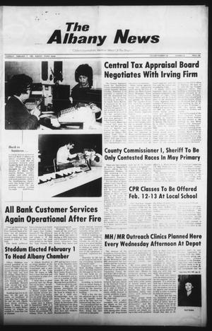 Primary view of object titled 'The Albany News (Albany, Tex.), Vol. 104, No. 33, Ed. 1 Thursday, February 7, 1980'.