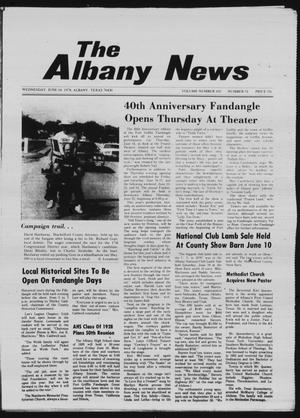 Primary view of object titled 'The Albany News (Albany, Tex.), Vol. 102, No. 51, Ed. 1 Wednesday, June 14, 1978'.