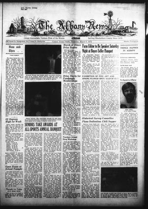 Primary view of object titled 'The Albany News (Albany, Tex.), Vol. 89, No. 29, Ed. 1 Thursday, March 8, 1973'.