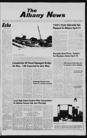 Primary view of object titled 'The Albany News (Albany, Tex.), Vol. 103, No. 43, Ed. 1 Thursday, April 19, 1979'.