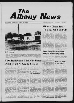 Primary view of object titled 'The Albany News (Albany, Tex.), Vol. 103, No. 16, Ed. 1 Thursday, October 12, 1978'.