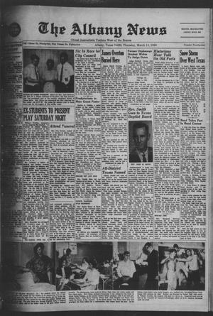 Primary view of object titled 'The Albany News (Albany, Tex.), Vol. 84, No. 29, Ed. 1 Thursday, March 14, 1968'.