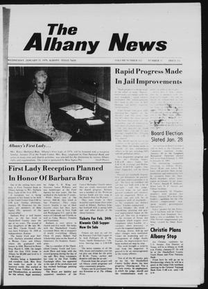 Primary view of object titled 'The Albany News (Albany, Tex.), Vol. 102, No. 31, Ed. 1 Wednesday, January 25, 1978'.