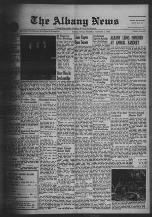 Primary view of object titled 'The Albany News (Albany, Tex.), Vol. 83, No. 14, Ed. 1 Thursday, December 1, 1966'.