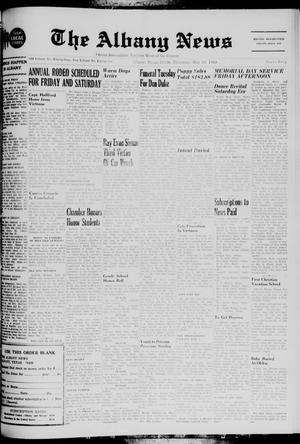 Primary view of object titled 'The Albany News (Albany, Tex.), Vol. 85, No. 40, Ed. 1 Thursday, May 29, 1969'.