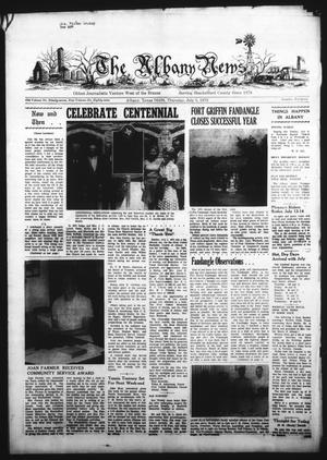 Primary view of object titled 'The Albany News (Albany, Tex.), Vol. 89, No. 46, Ed. 1 Thursday, July 5, 1973'.