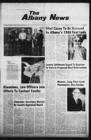 Primary view of object titled 'The Albany News (Albany, Tex.), Vol. 104, No. 29, Ed. 1 Thursday, January 10, 1980'.
