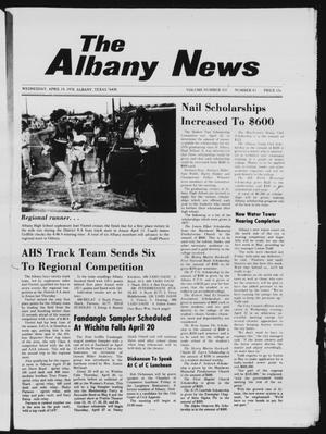 Primary view of object titled 'The Albany News (Albany, Tex.), Vol. 102, No. 43, Ed. 1 Wednesday, April 19, 1978'.