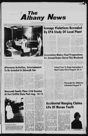 Primary view of object titled 'The Albany News (Albany, Tex.), Vol. 104, No. 7, Ed. 1 Thursday, August 9, 1979'.