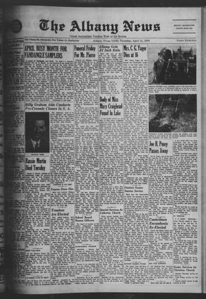 Primary view of object titled 'The Albany News (Albany, Tex.), Vol. 84, No. 33, Ed. 1 Thursday, April 11, 1968'.