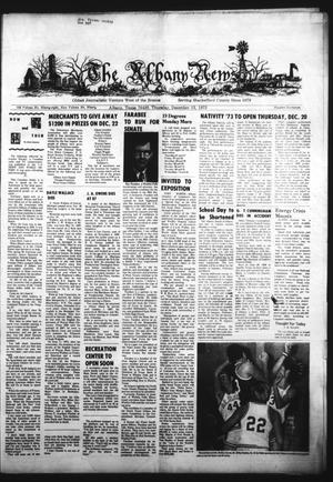 Primary view of object titled 'The Albany News (Albany, Tex.), Vol. 90, No. 17, Ed. 1 Thursday, December 13, 1973'.